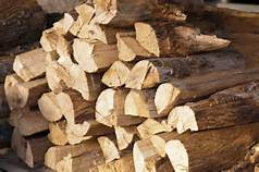 split seasoned firewood