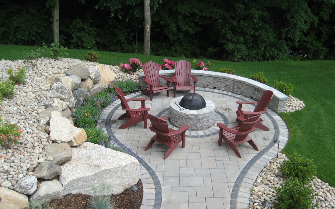 Commercial Patio Hardscaping CT
