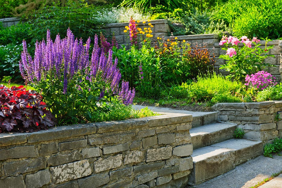 Landscape with Stone and Color – Wethersfield CT